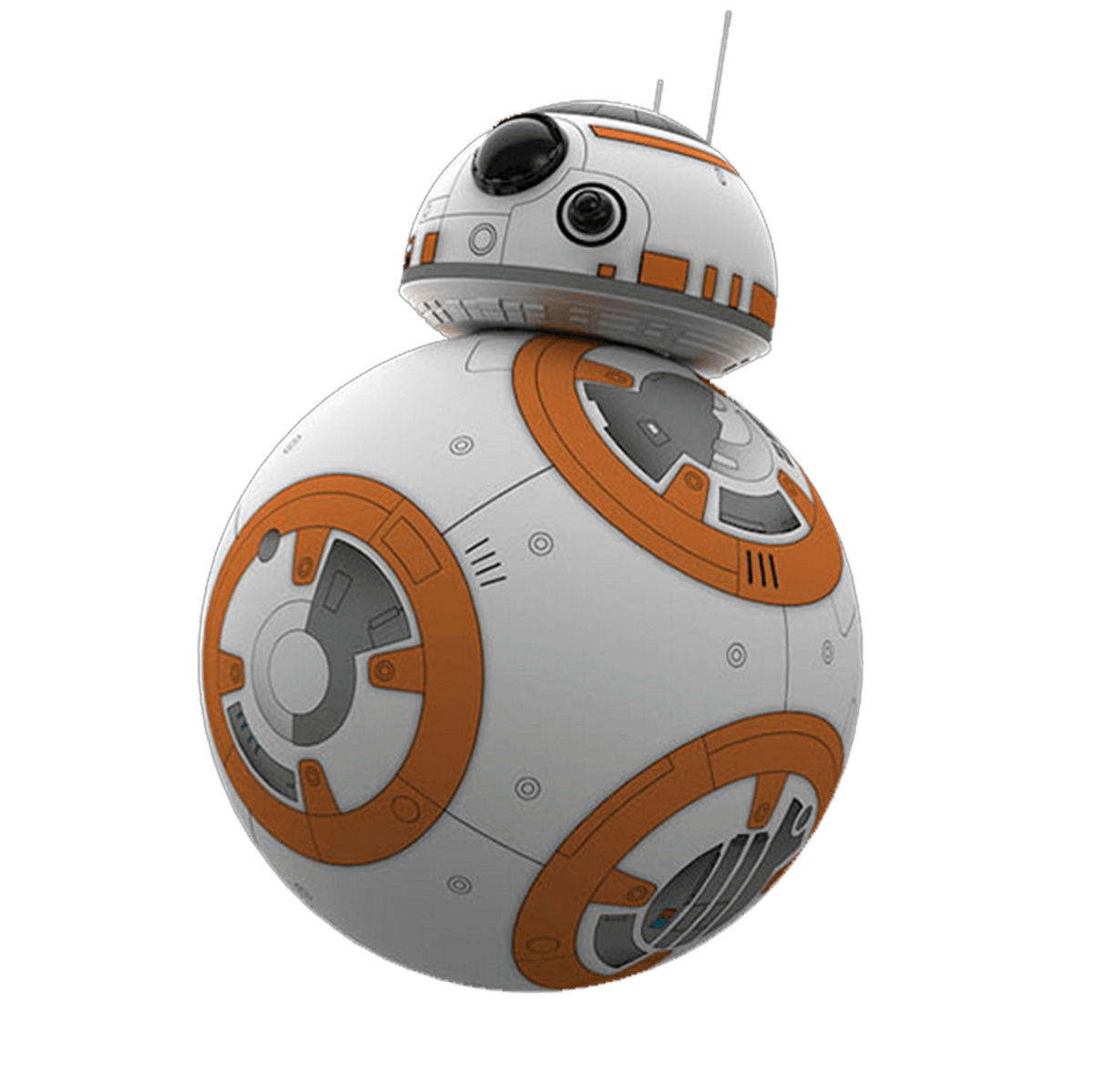 R2-D2 Droid Star Robot Wars Sphero Bb-8 PNG Image