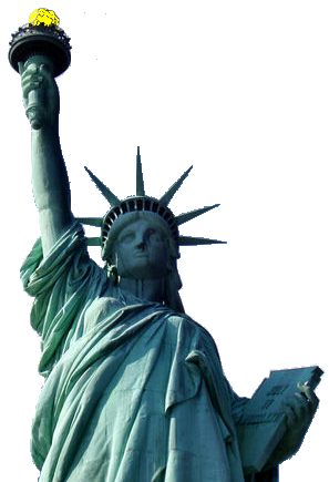 Statue Of Liberty Transparent PNG Image