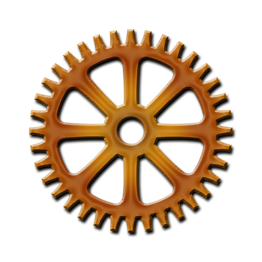 Steampunk Gear Hd PNG Image