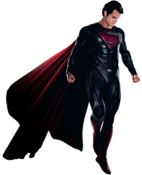 Superman Man Of Steel Png PNG Image