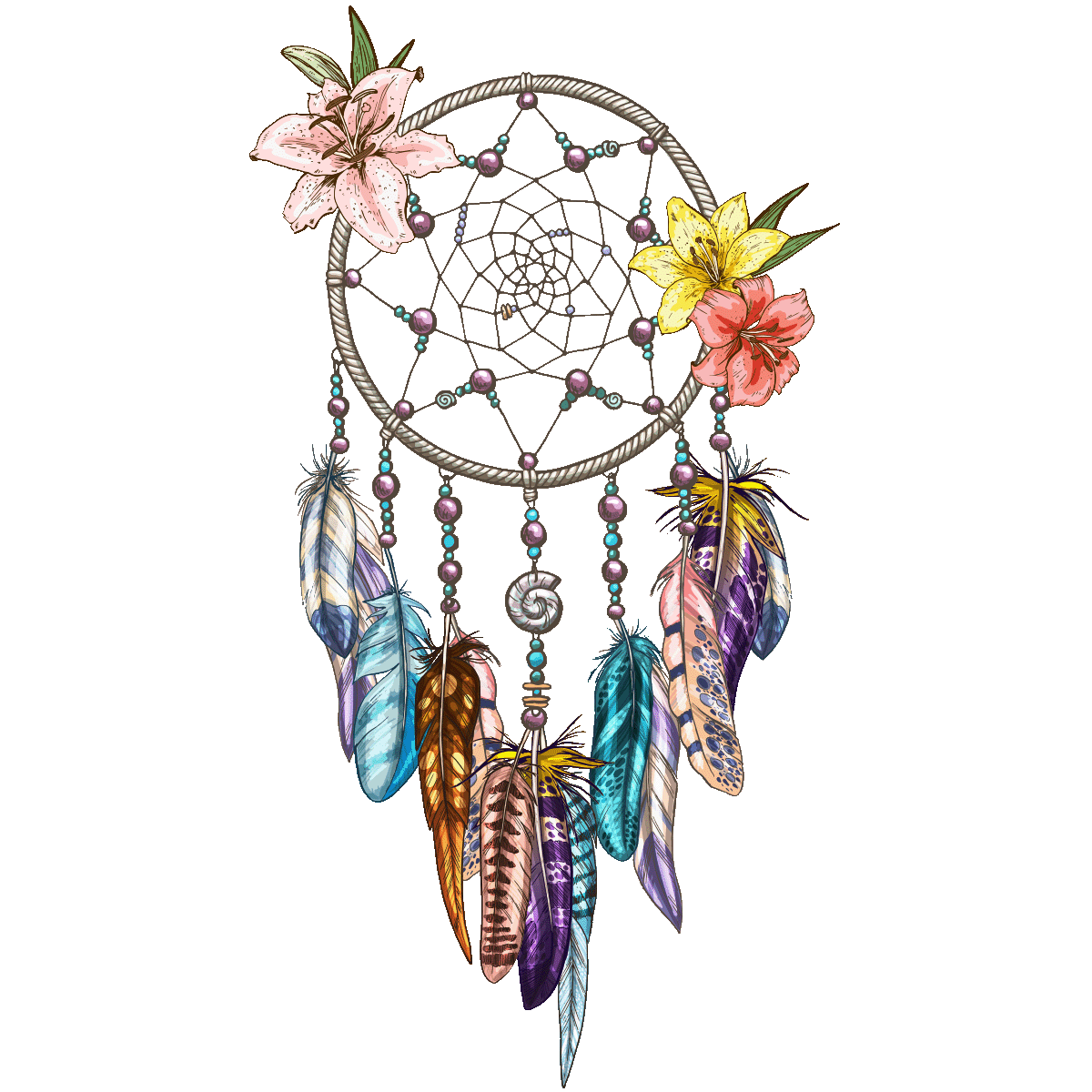 Symbol Drawing Dreamcatcher HQ Image Free PNG PNG Image