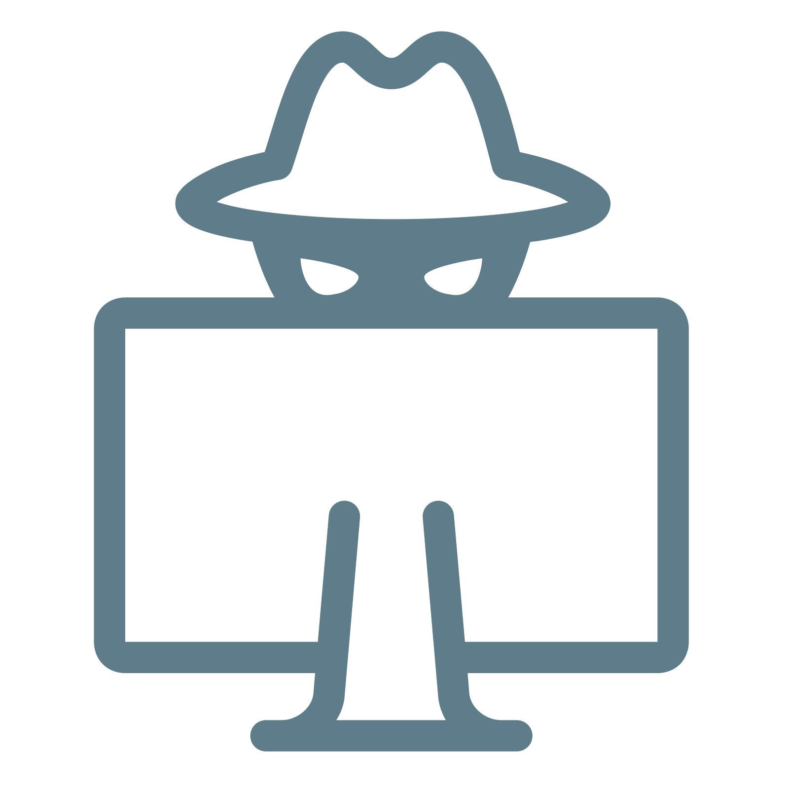 Hacker Security Computer Social Icons Free Clipart HD PNG Image
