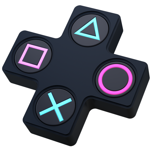 Purple Playstation Symbol Free Clipart HD PNG Image