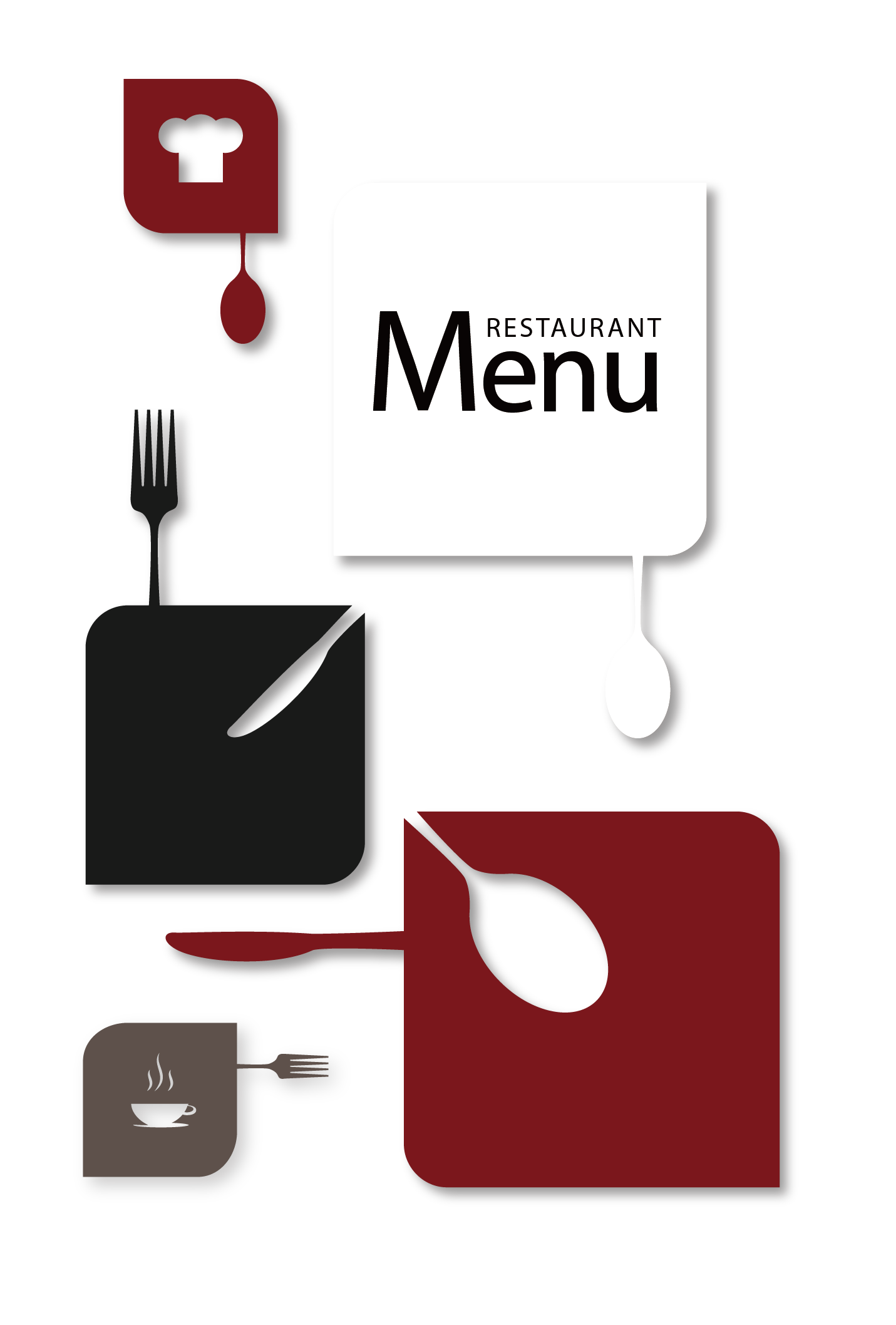 Menu Icon Restaurant Free Clipart HD PNG Image