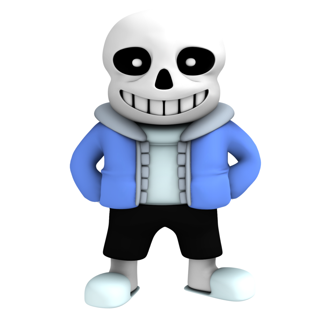 Tshirt Figurine Technology Sans Undertale Free Clipart HD PNG Image