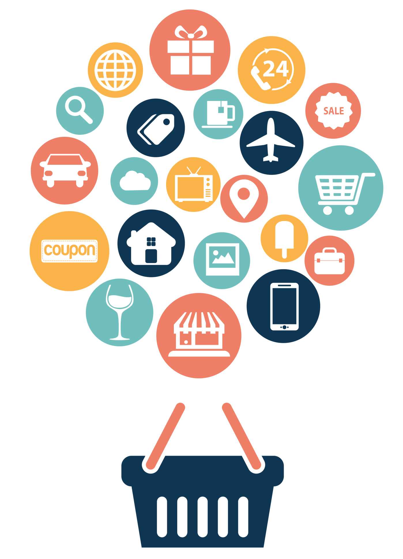 Development Web Material Shopping Internet E-Commerce Vector PNG Image