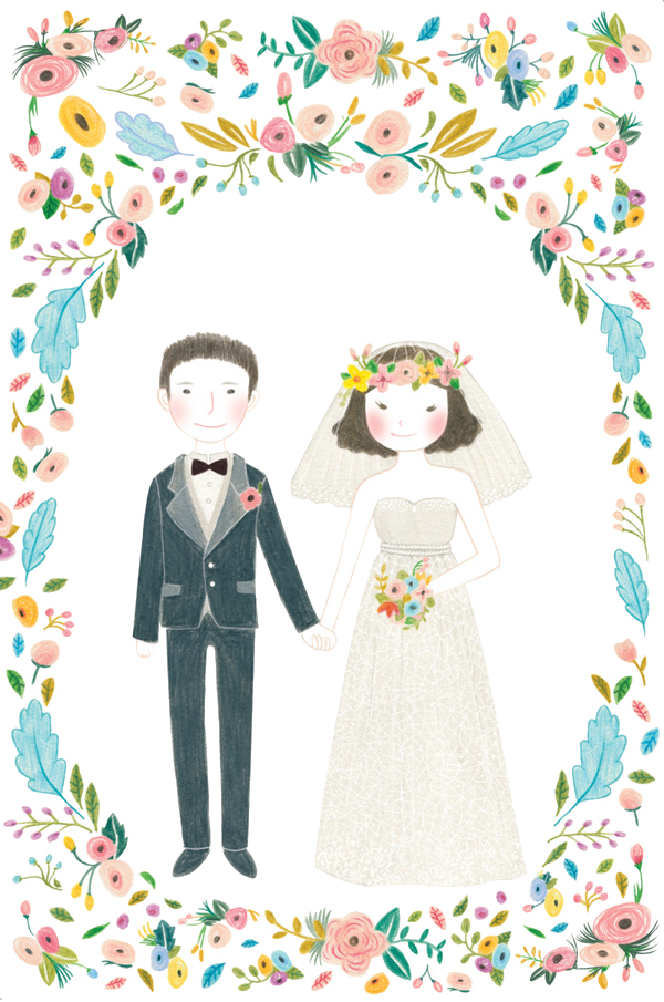 Couple Invitation Marriage Illustration Wedding Free Transparent Image HQ PNG Image