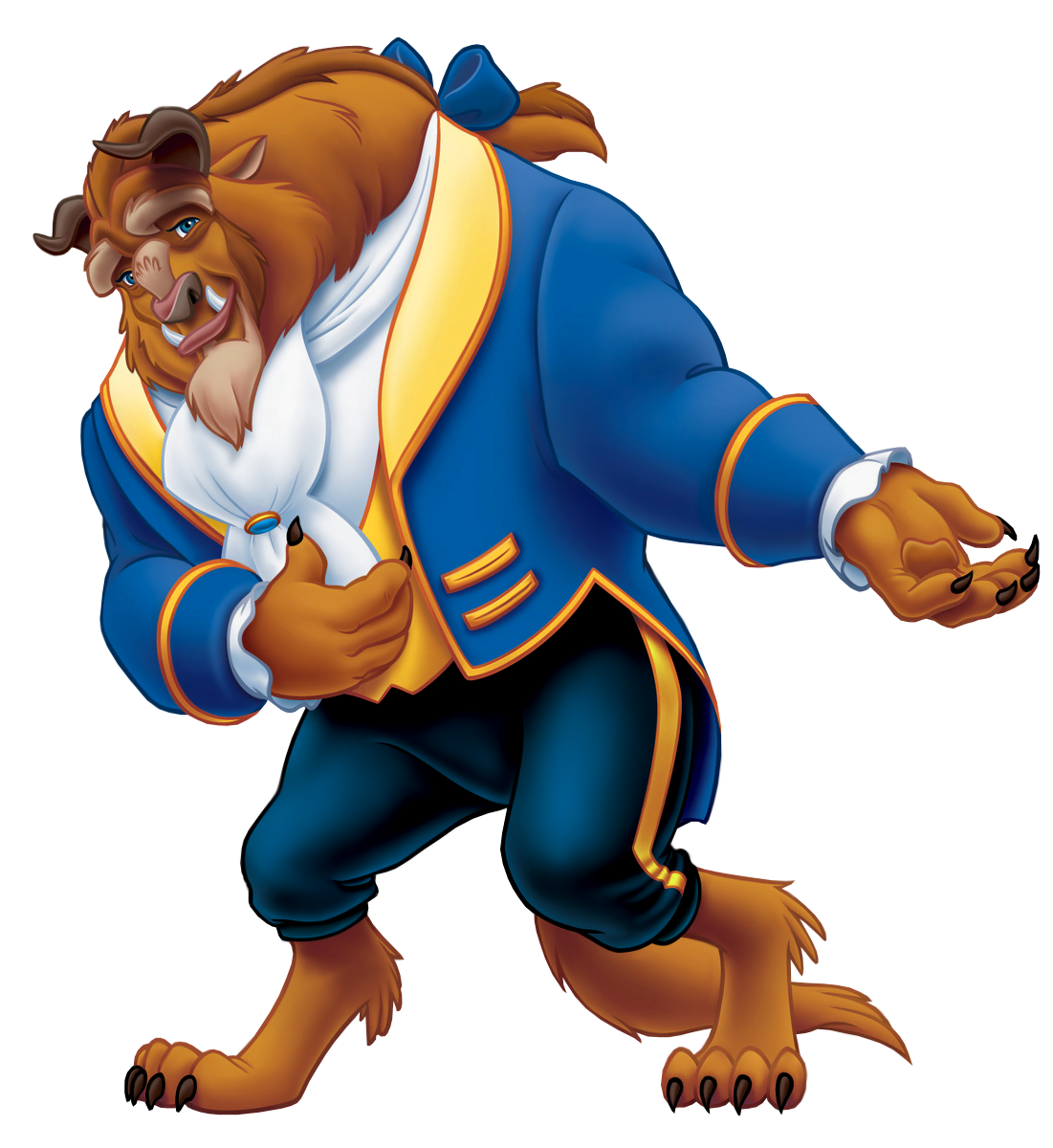 And Beauty Belle Beast The Princess Disney PNG Image