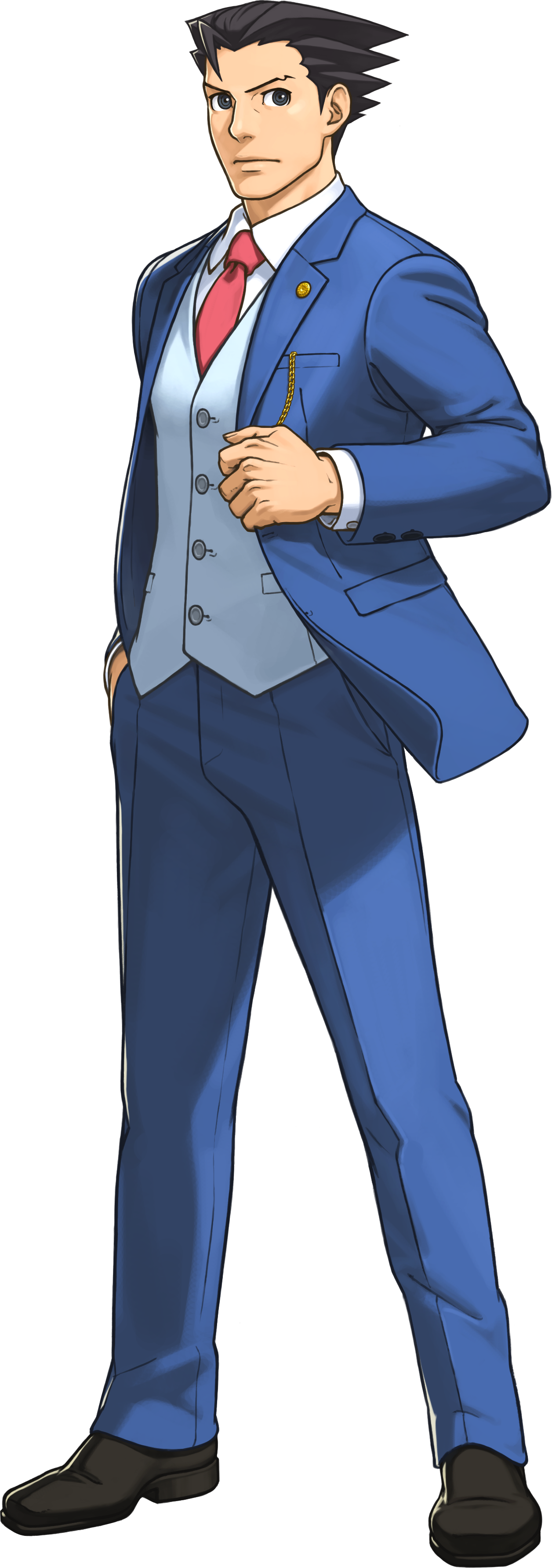 Ace Attorney Transparent PNG Image