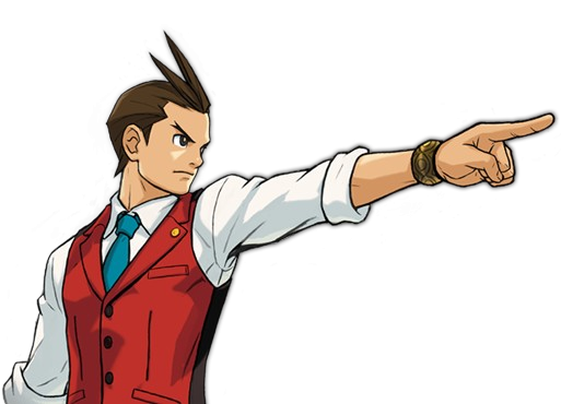 Ace Attorney Picture PNG Image