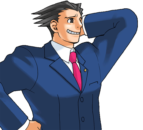 Ace Attorney Free Png Image PNG Image