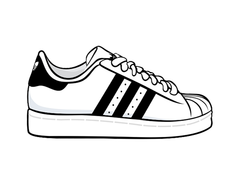 Superstar Originals Adidas Classic Shells Sneakers Shoe PNG Image
