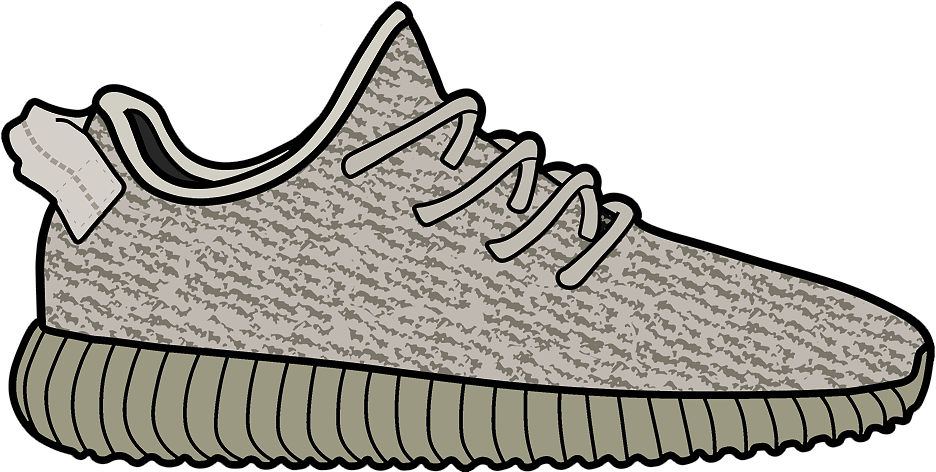 Yeezy Sneakers Originals Adidas Shoe PNG File HD PNG Image