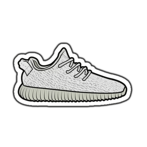 T-Shirt Yeezy Sneakers Drawing Adidas PNG Image High Quality PNG Image