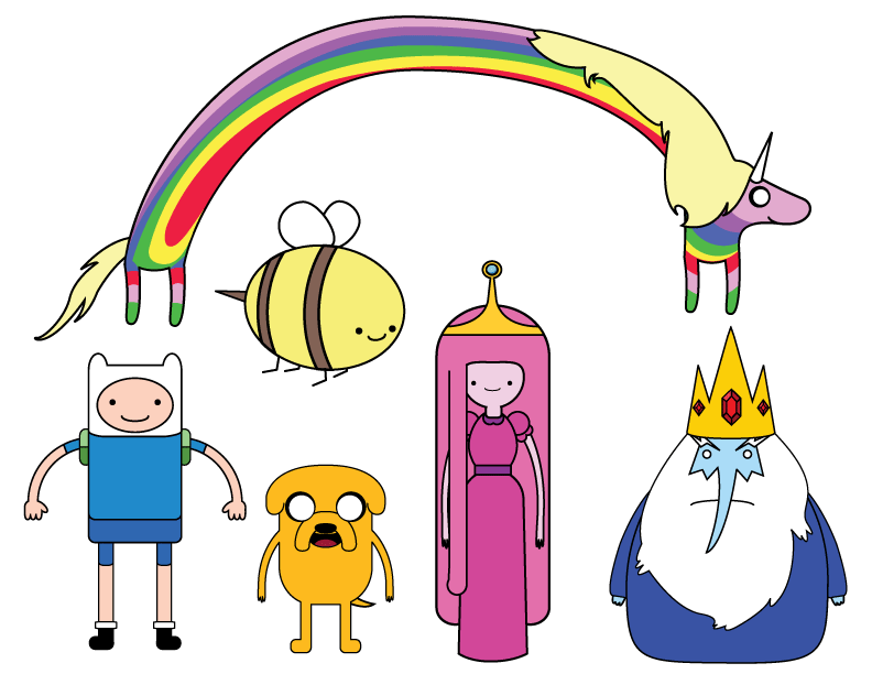 Adventure Time Transparent Background PNG Image