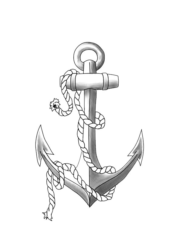 Anchor Tattoos Png Clipart PNG Image