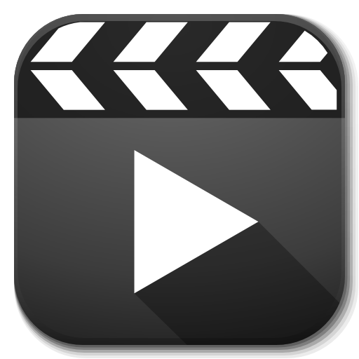 Angle Brand Apps Player Video Logo PNG Image