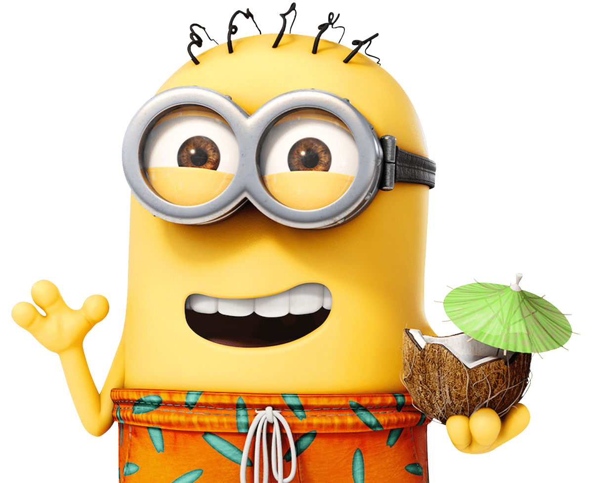 Rush Entertainment Minion Despicable Paradise Illumination Bob PNG Image