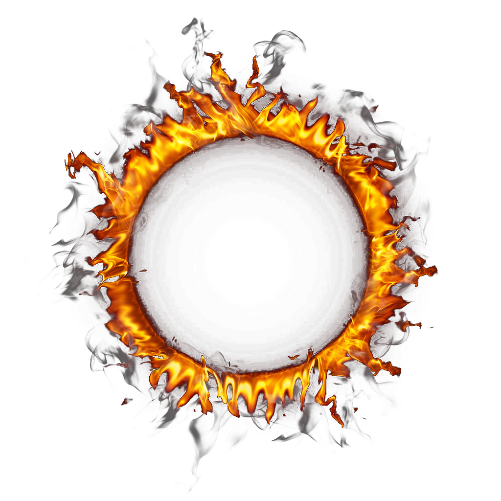 Fire Of Ring Border Circle Download Free Image PNG Image