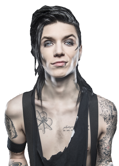 Andy Sixx Transparent PNG Image