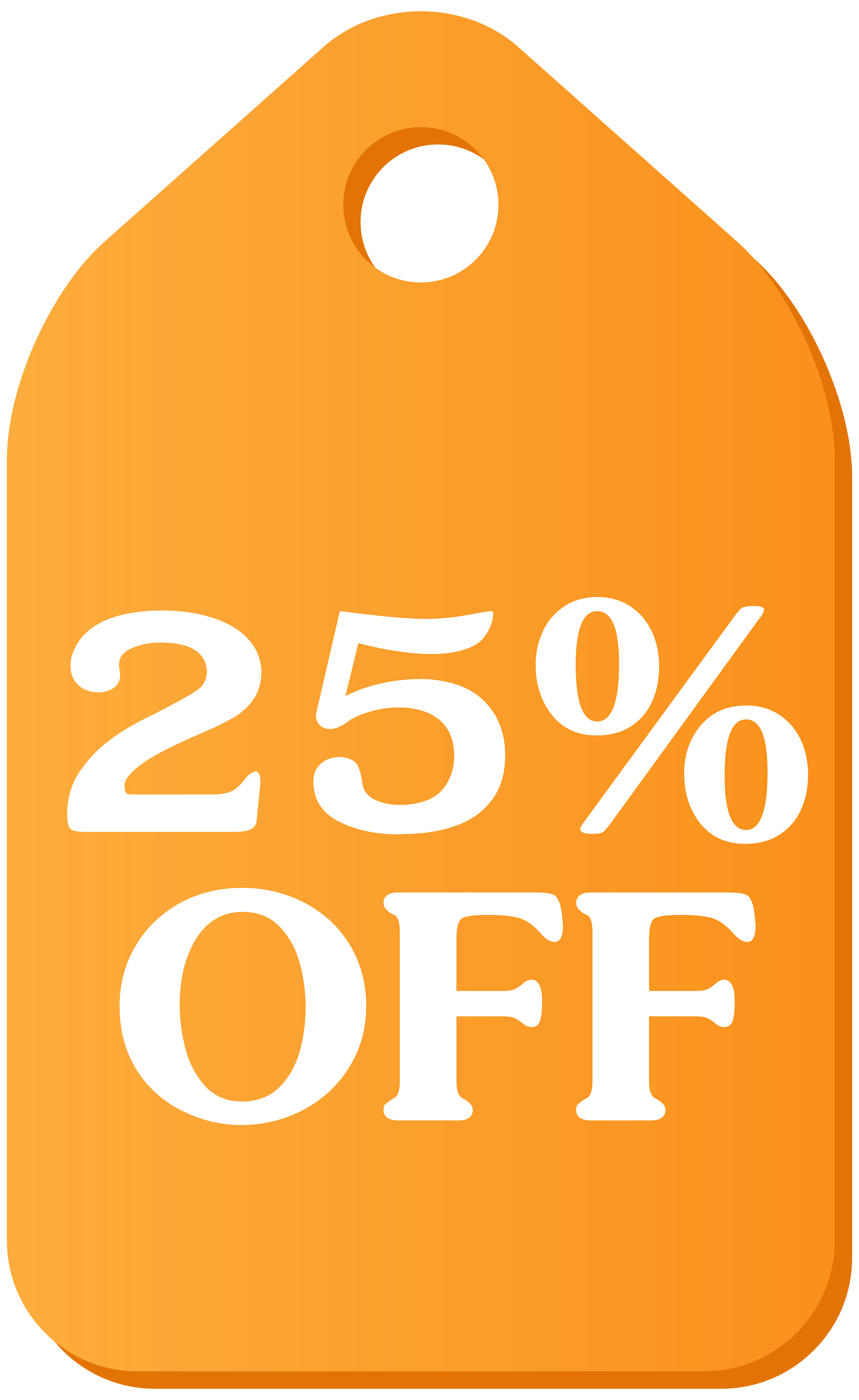 Orange Discount Tag Free Download Image PNG Image