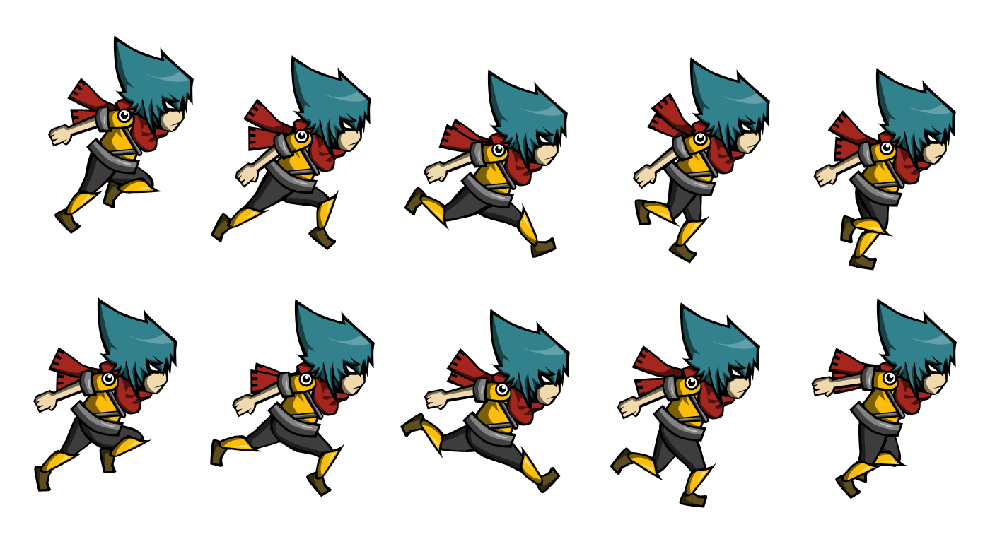 Computer Sprite Figure Character Fictional 2D Animation PNG Image