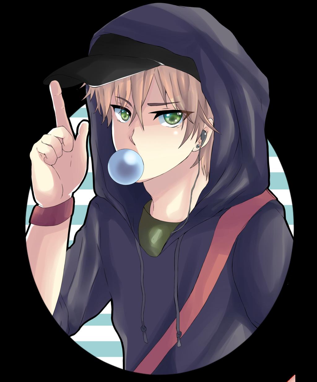 Anime boy transparent image png image