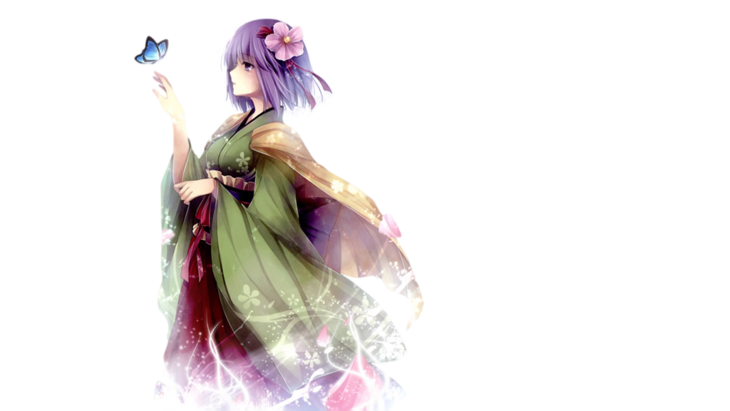 Anime Girl Transparent Background PNG Image