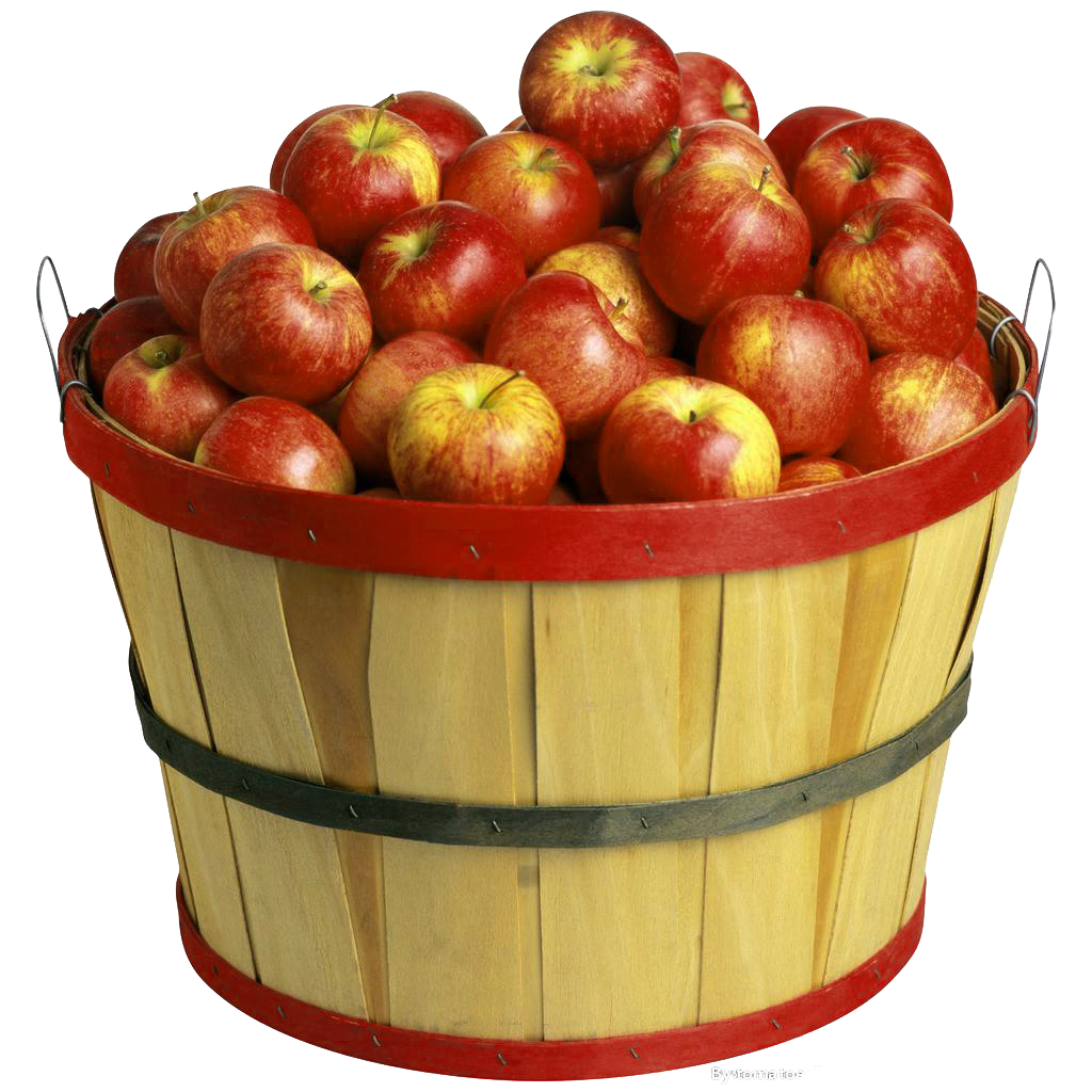 Apple Of Material Cider Apples Basket The PNG Image