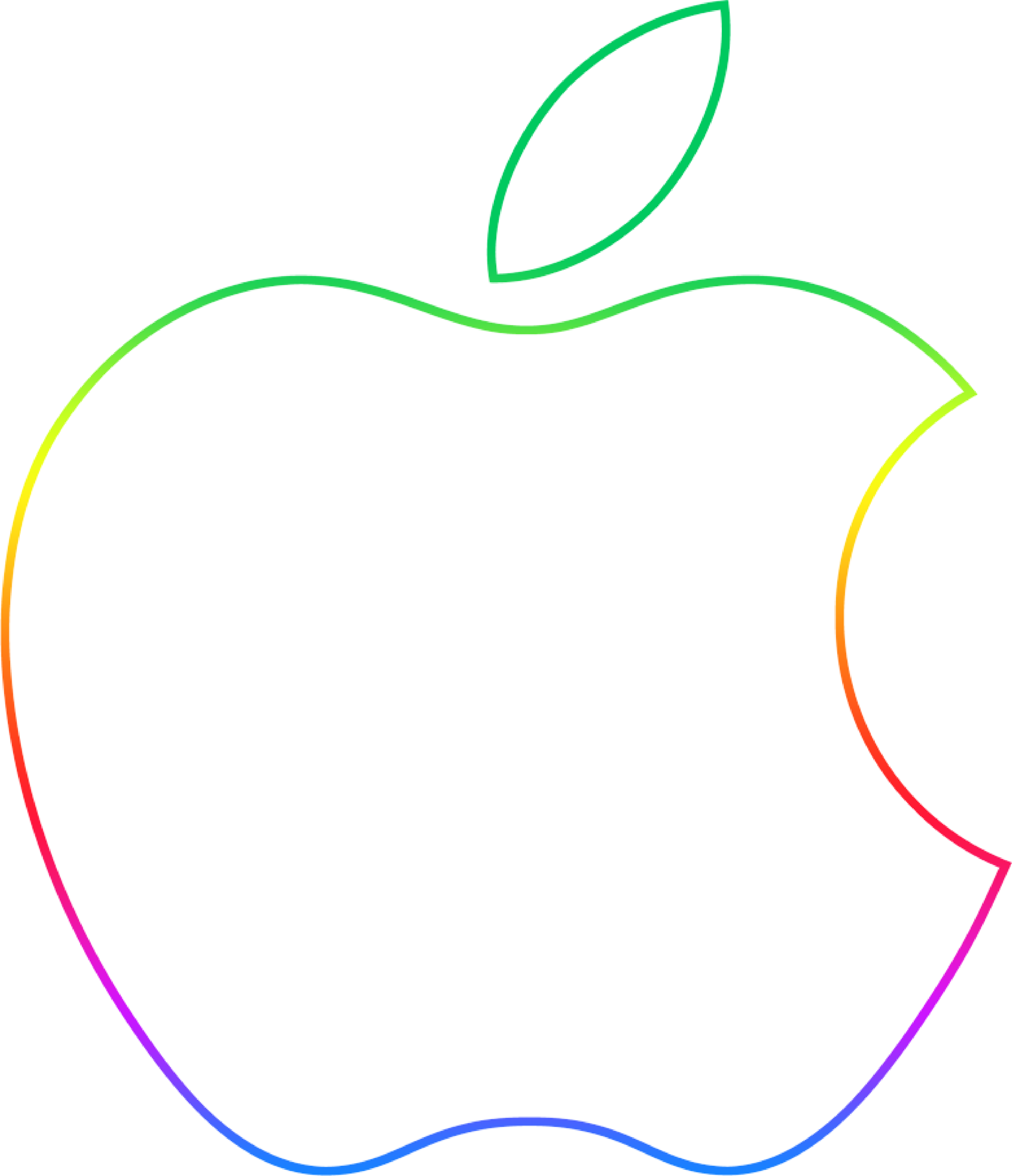 Product Angle Apple Point Logo Line PNG Image