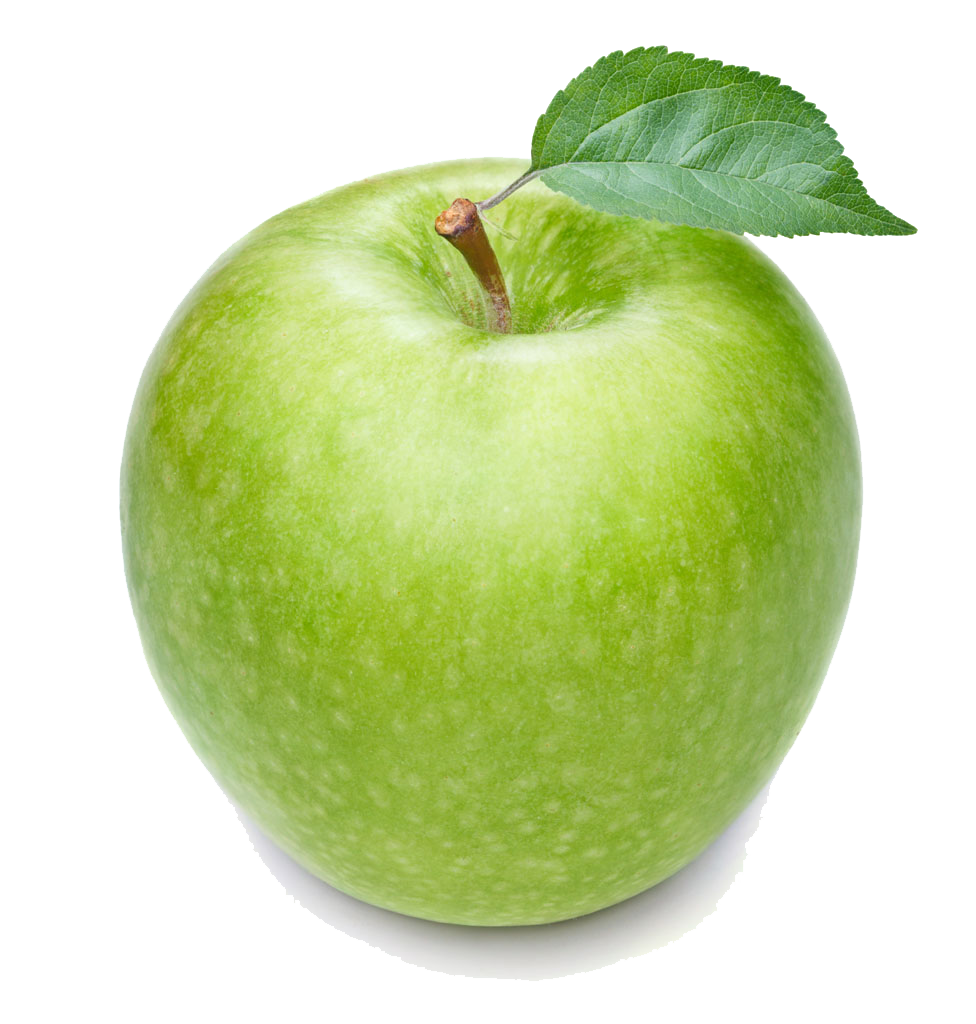 Apple Manzana Smith Fruit Verde Green Granny PNG Image