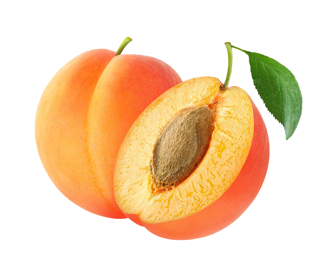 Apricot Transparent Background PNG Image