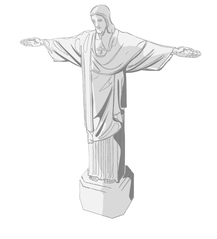 Redeemer The Christ Statue Jesus Free Download PNG HD PNG Image