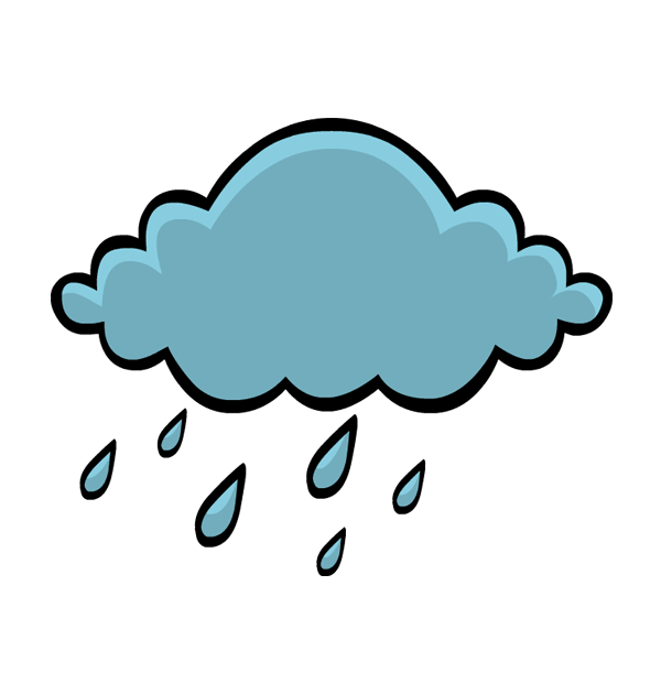 Animation Leaf Cloud Rain Area Free Download PNG HQ PNG Image