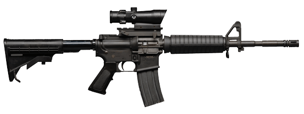 Assault Rifle Png PNG Image