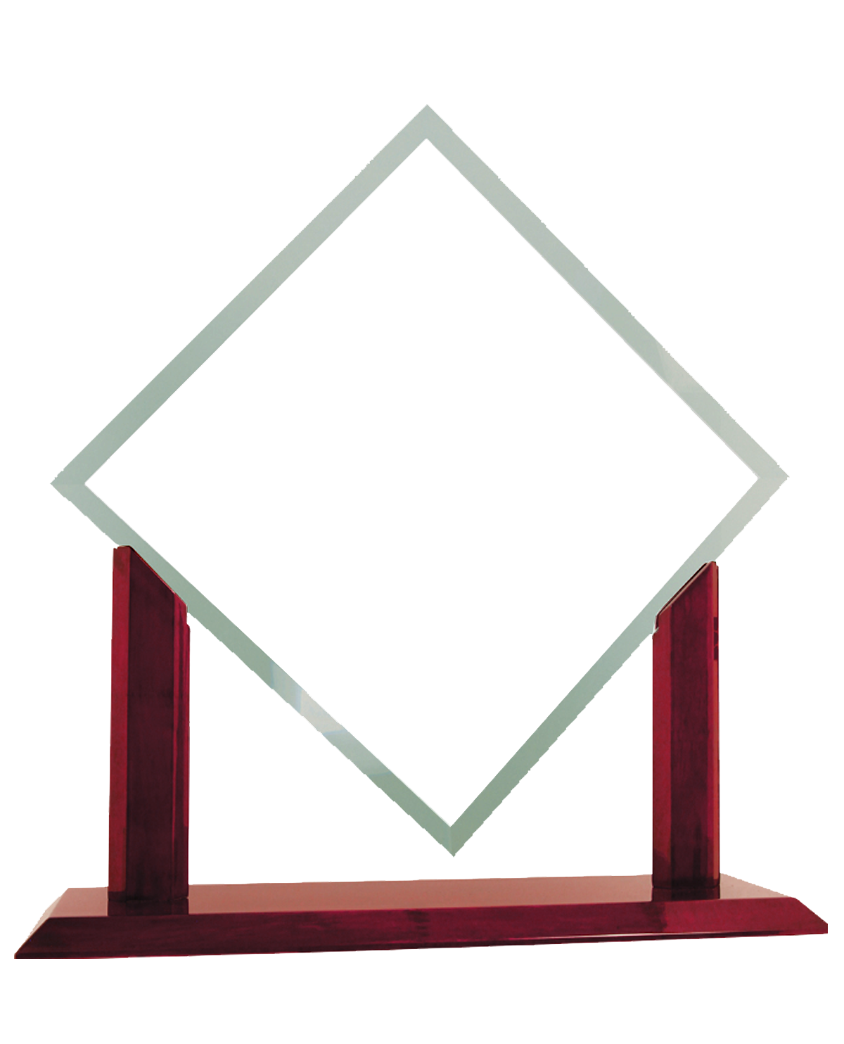 Glass Award Transparent Background PNG Image