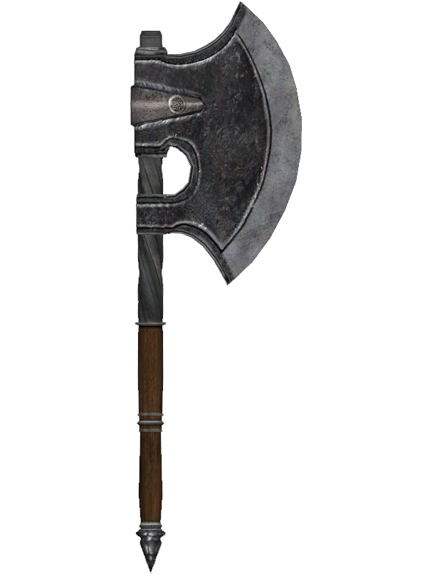 Battle Axe Transparent Picture PNG Image