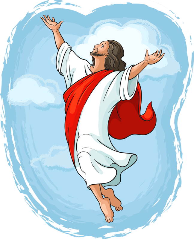 Miracles Dance Of Photography Jesus Ascension Stock PNG Image