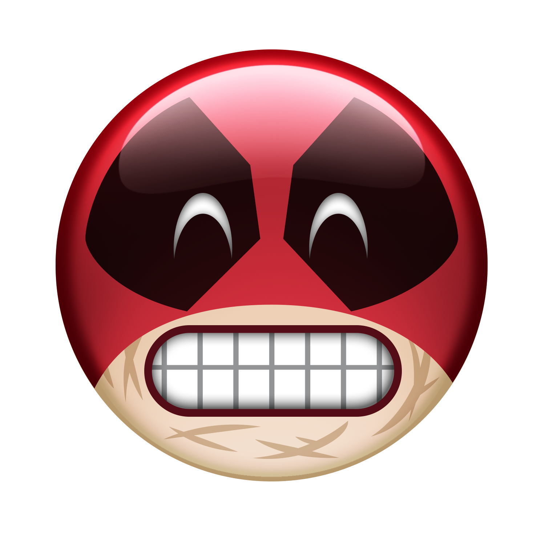 Download Smile Deadpool Mouth Film Emoji HD Image Free PNG