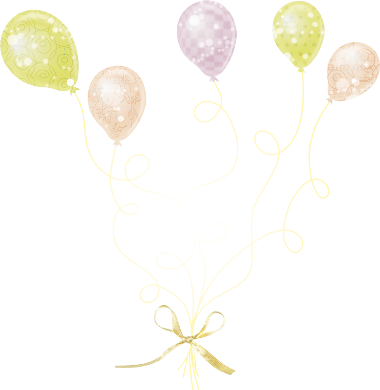 Balloon Birthday Gift Free Clipart HD PNG Image