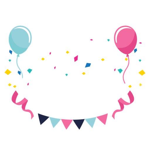 T-Shirt Gift Balloon Greeting Note Birthday Cards PNG Image