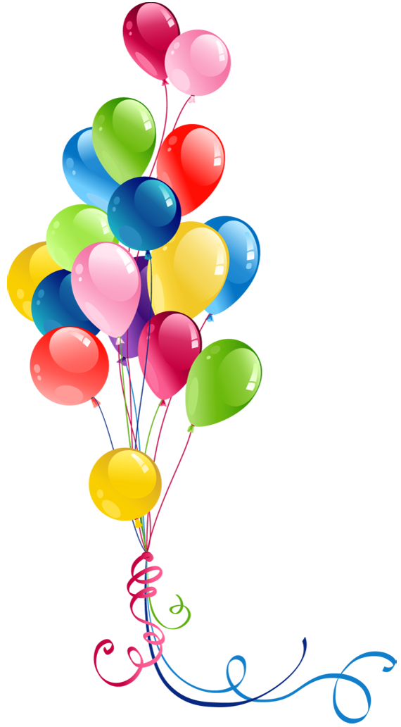 Balloon Balloons Transparent Bunch Free HD Image PNG Image
