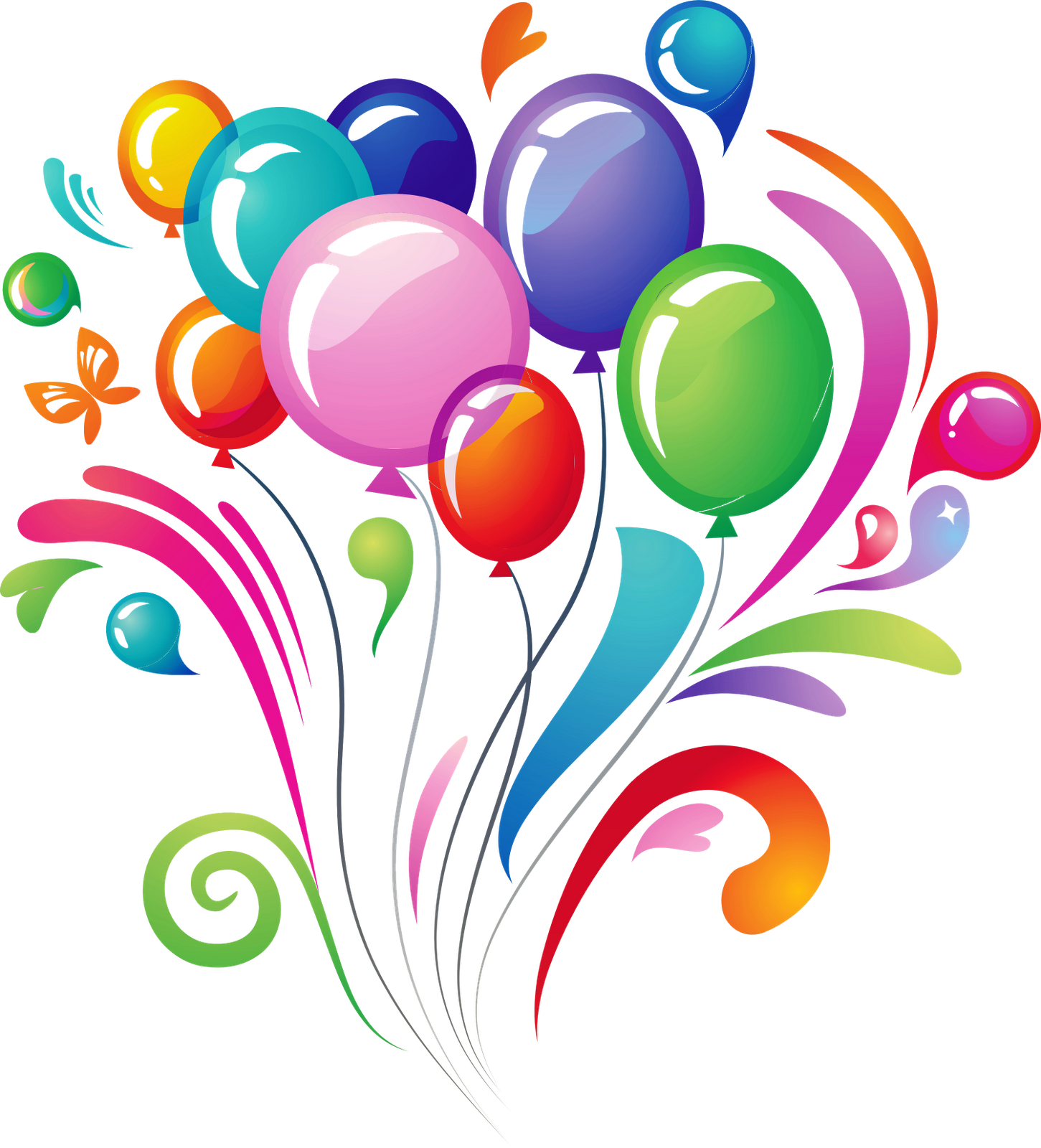 Balloons Transparent PNG Image