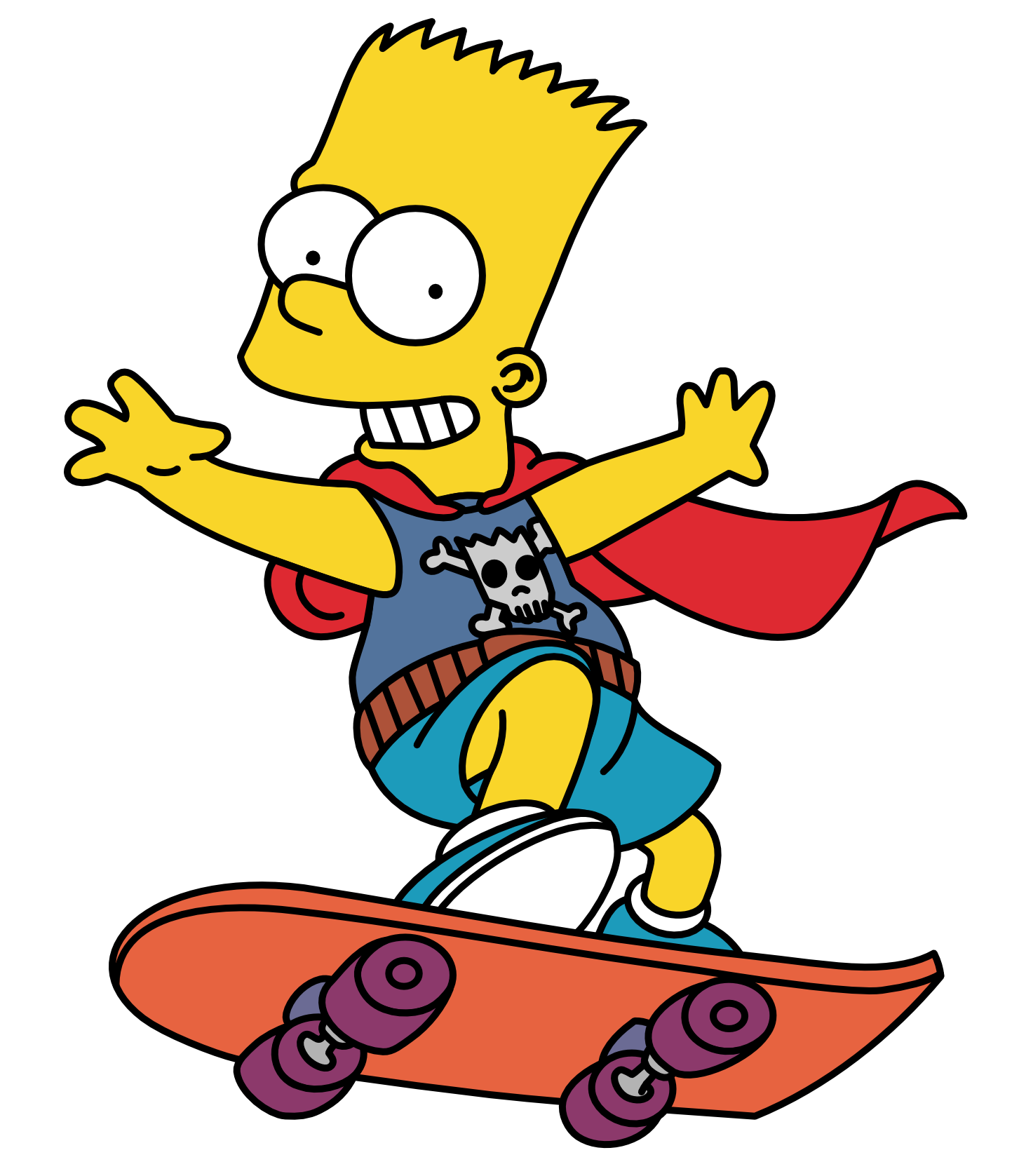 Bart Simpson Png Image PNG Image