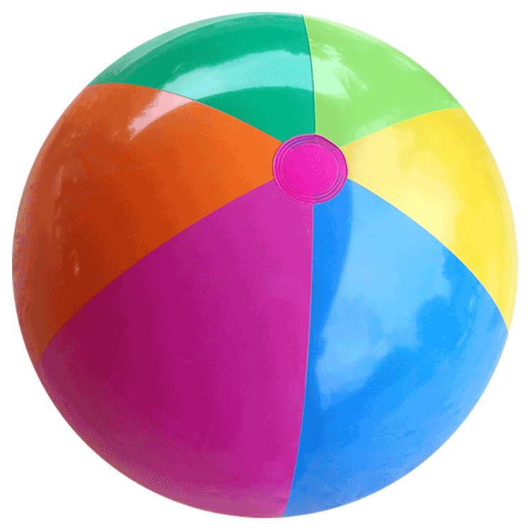 Beach Ball Picture PNG Image