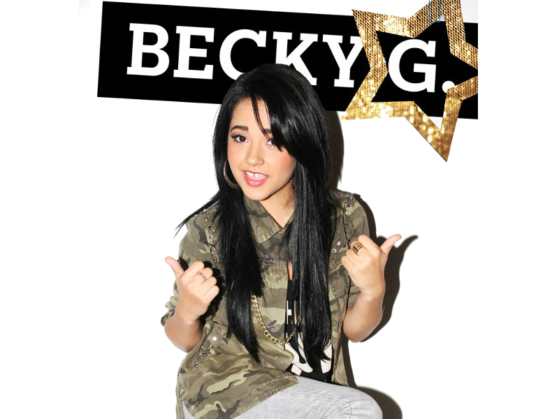 Becky G File PNG Image