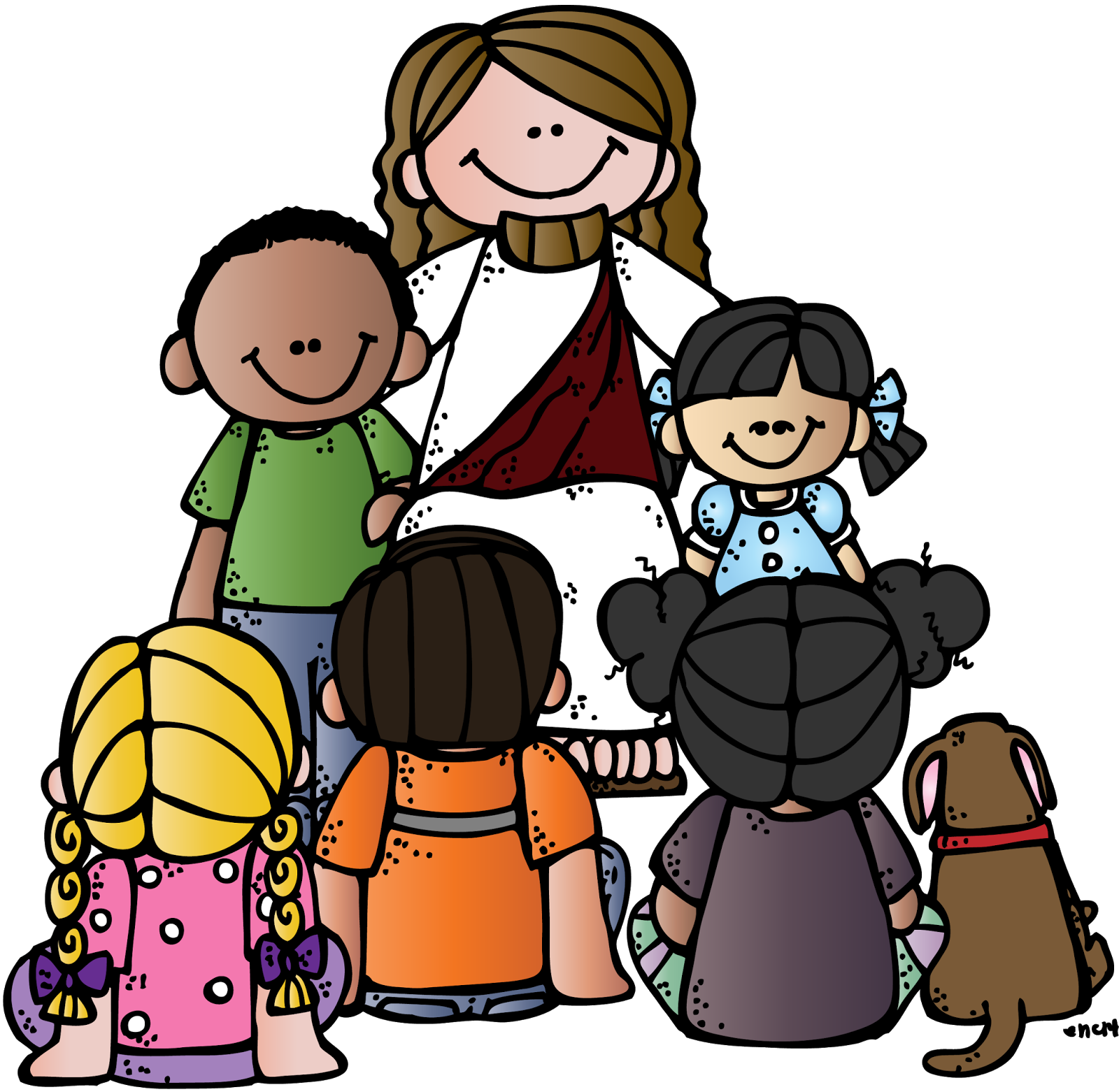 Bible Christ Latter-Day Of Child Saints Jesus PNG Image