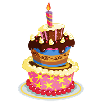 Birthday Cake Picture PNG Image