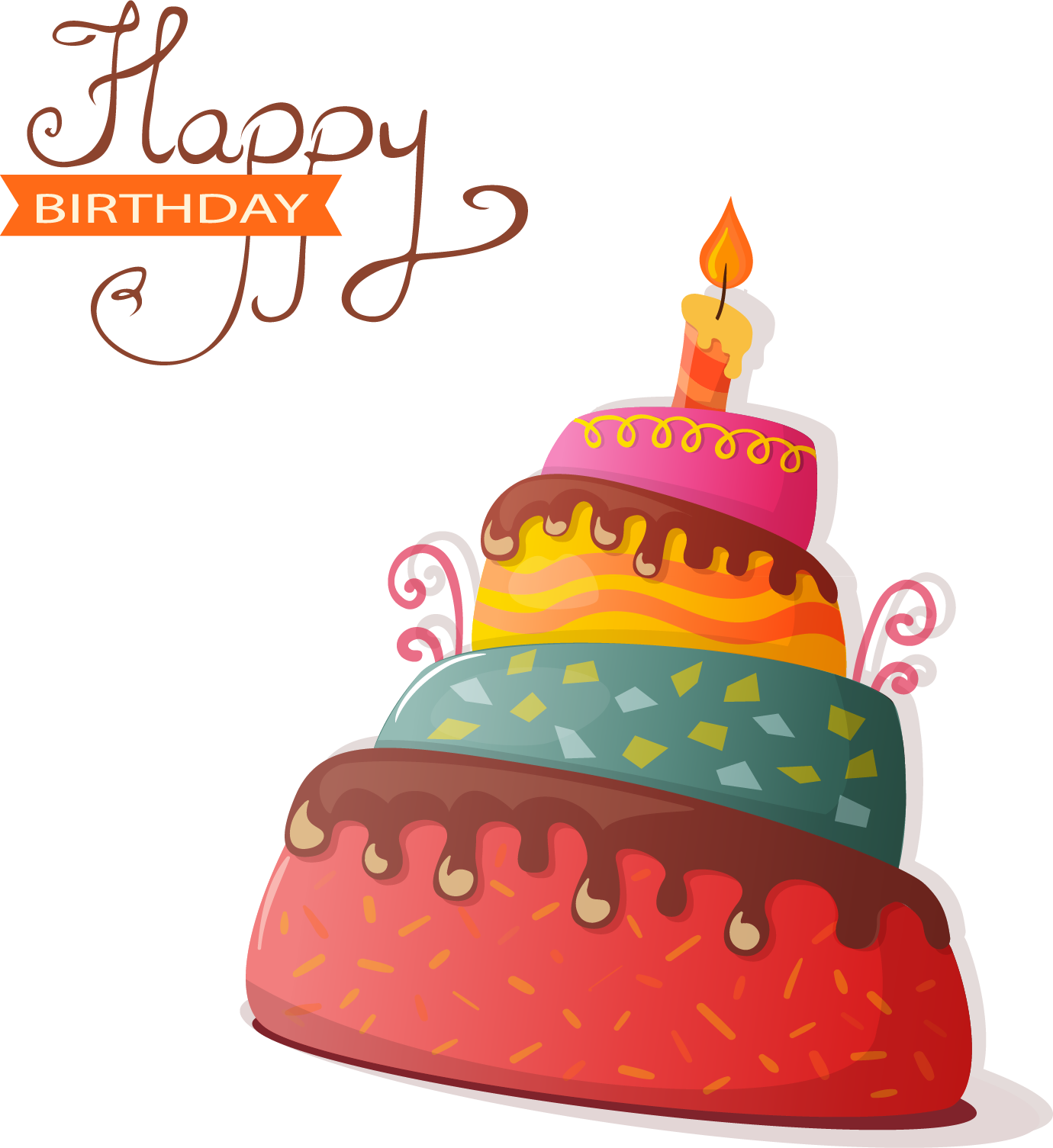 Cake Birthday Free Download Image PNG Image