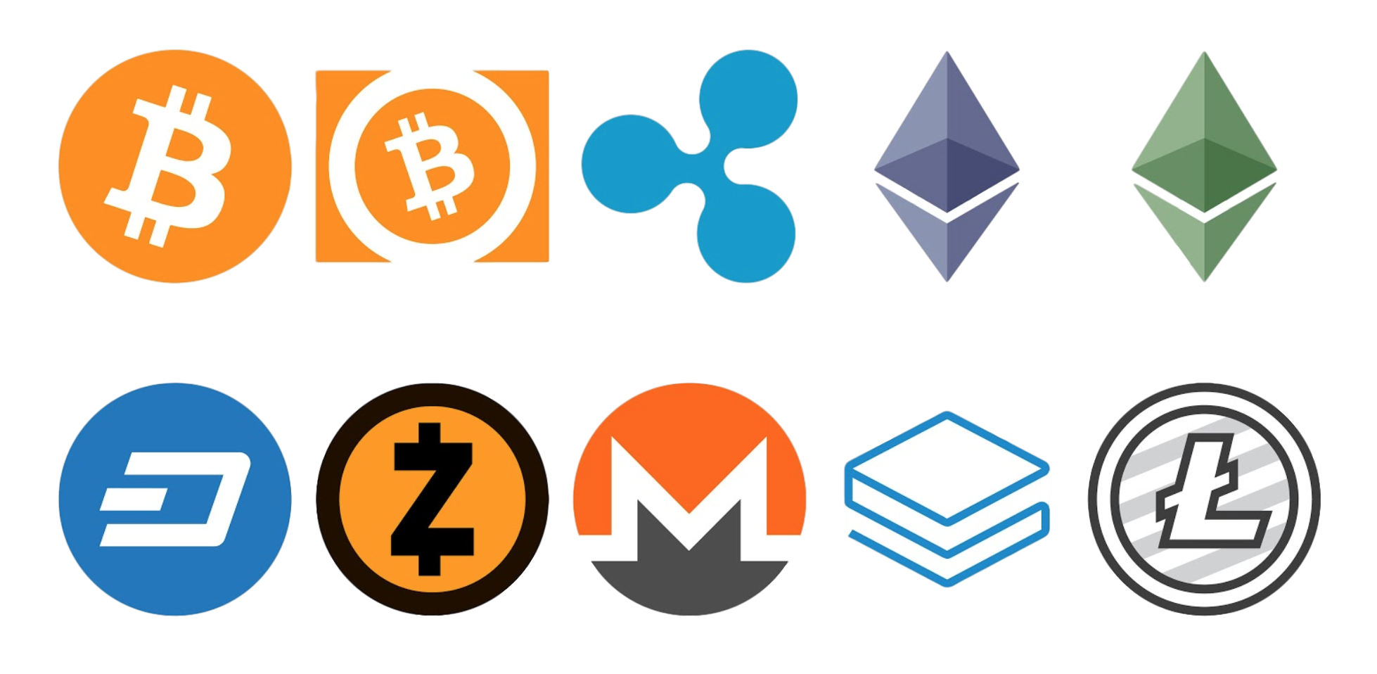 Cryptocurrency Litecoin Ethereum Bitcoin Cash Download HQ PNG PNG Image